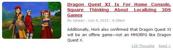 Dragon Quest Series - News [Archive] - Page 2 - Square Enix Forums